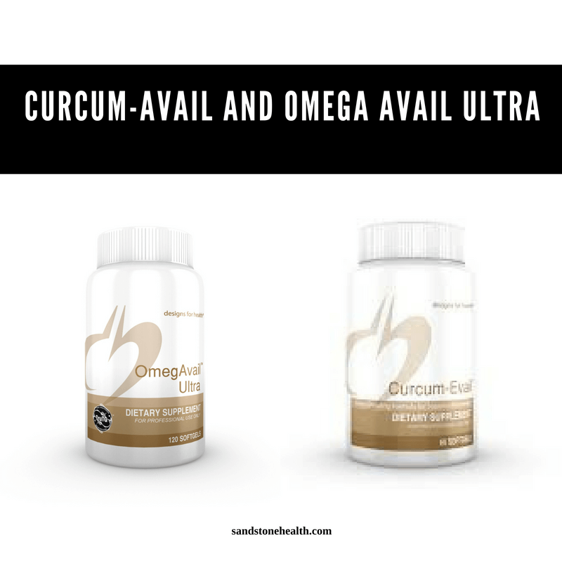 maintain wellness with curcum-avail and omega avail ultra
